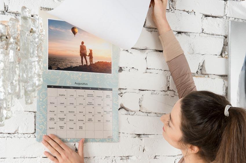 Egyedi naptár fényképekből?  Idézd fel a legszebb emlékeid karácsonykor!